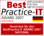 Nominierte für den BestPractice-IT Award